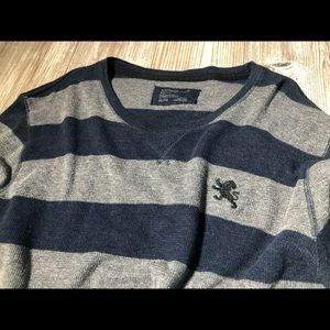 Express Long Sleeve Knit Crew Neck